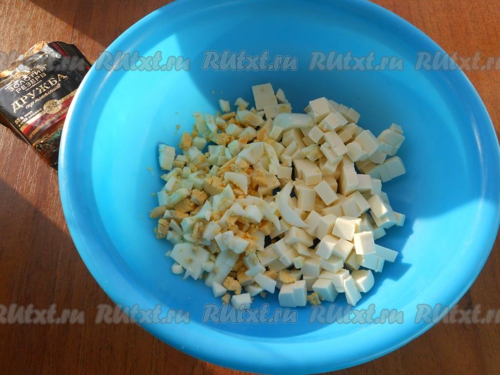 Салат из грецких орехов чернослива яиц сыры огурца