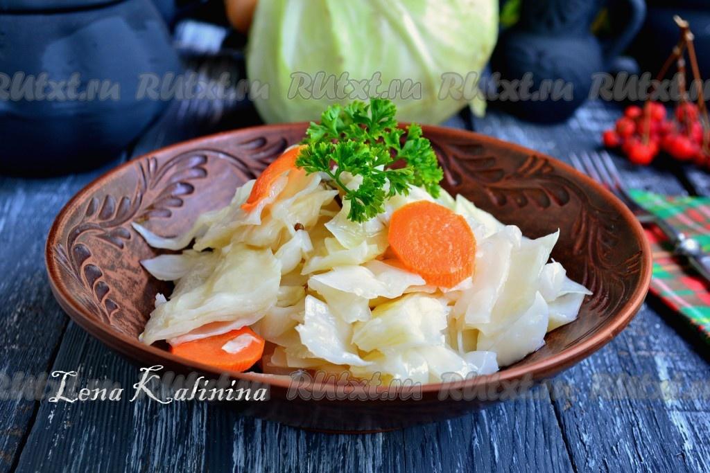 капуста салат быстрого приготовления рецепт
