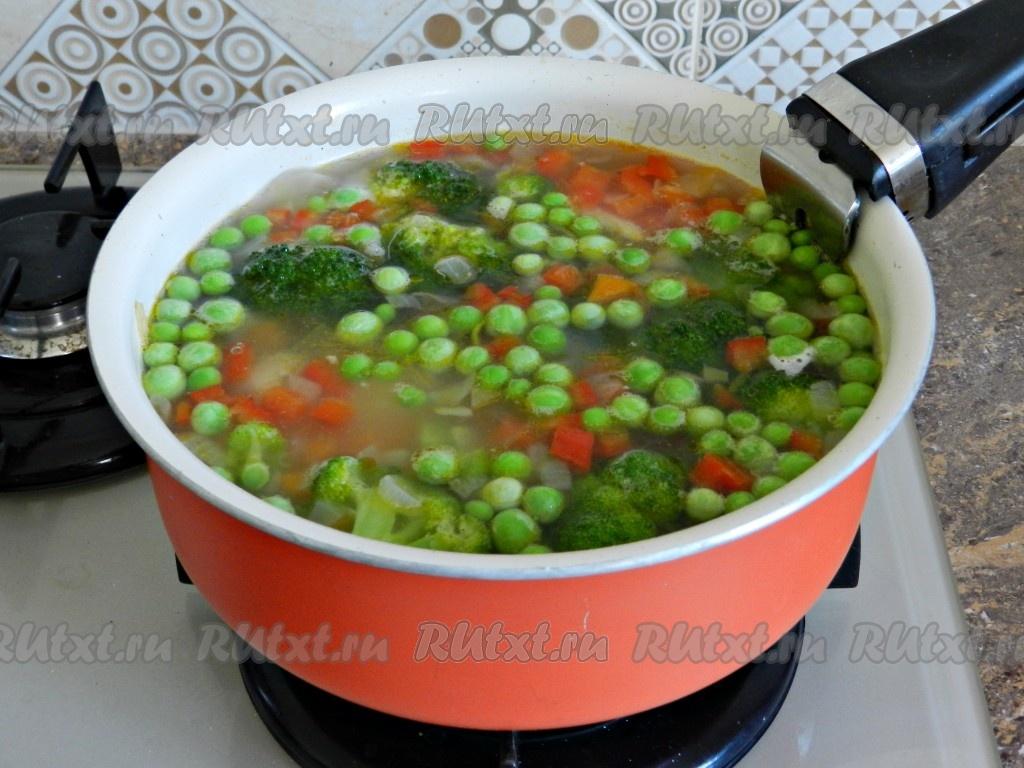 Как готовить овощной суп
