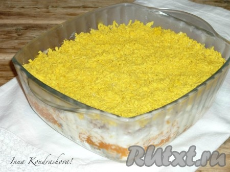 салат картошка с консервами рецепт