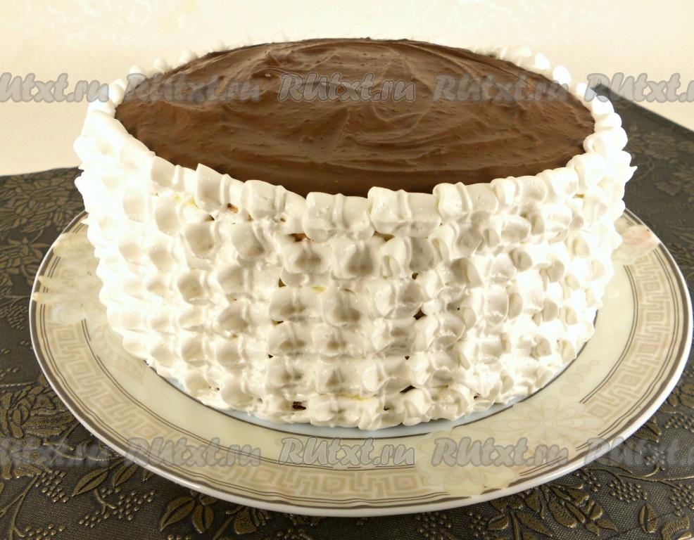 красивые торты украшены кремом фото