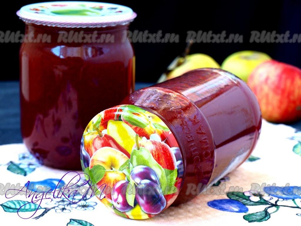 Яблочно-сливовое варенье изоражения
