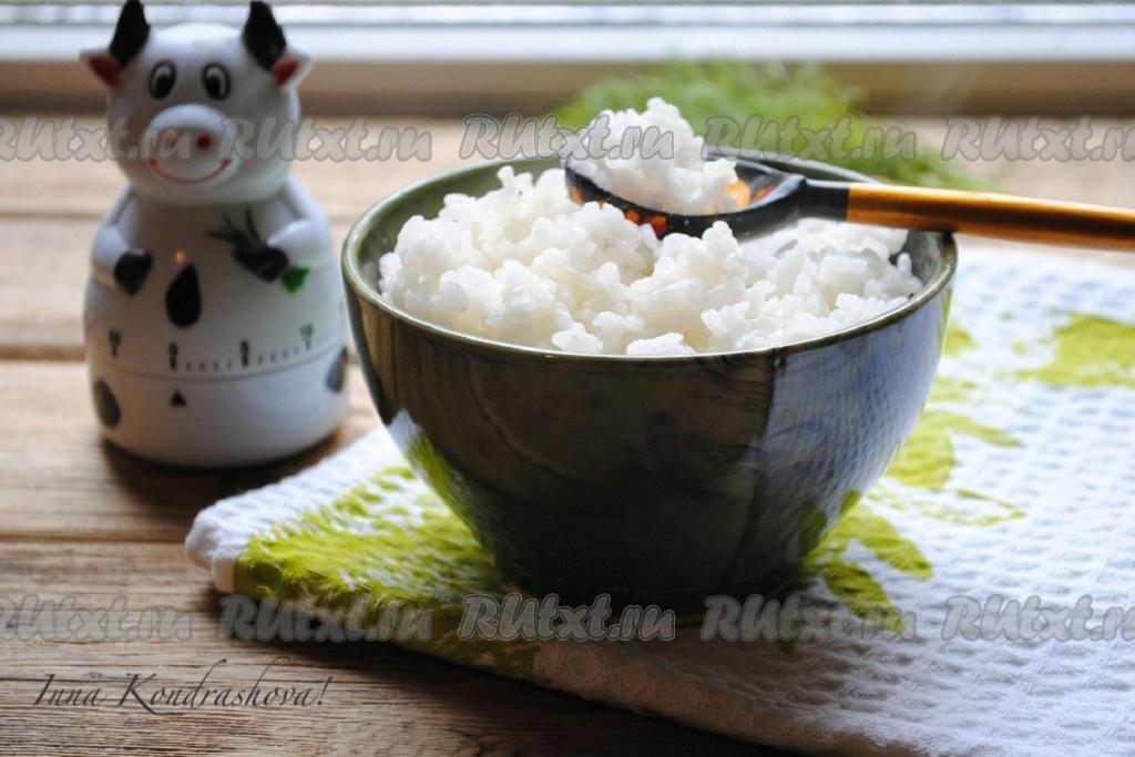 как сварить рис рассыпчатым в кастрюле на гарнир рецепт с фото пошагово