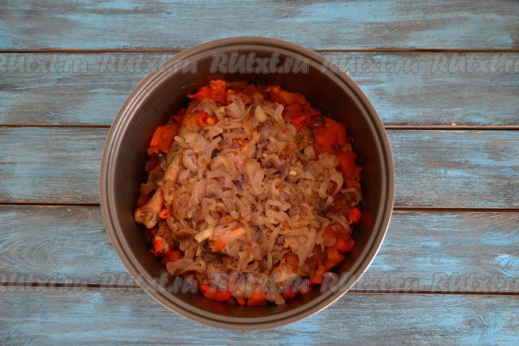 рецепты из чахохбили из курицы на мультиварке