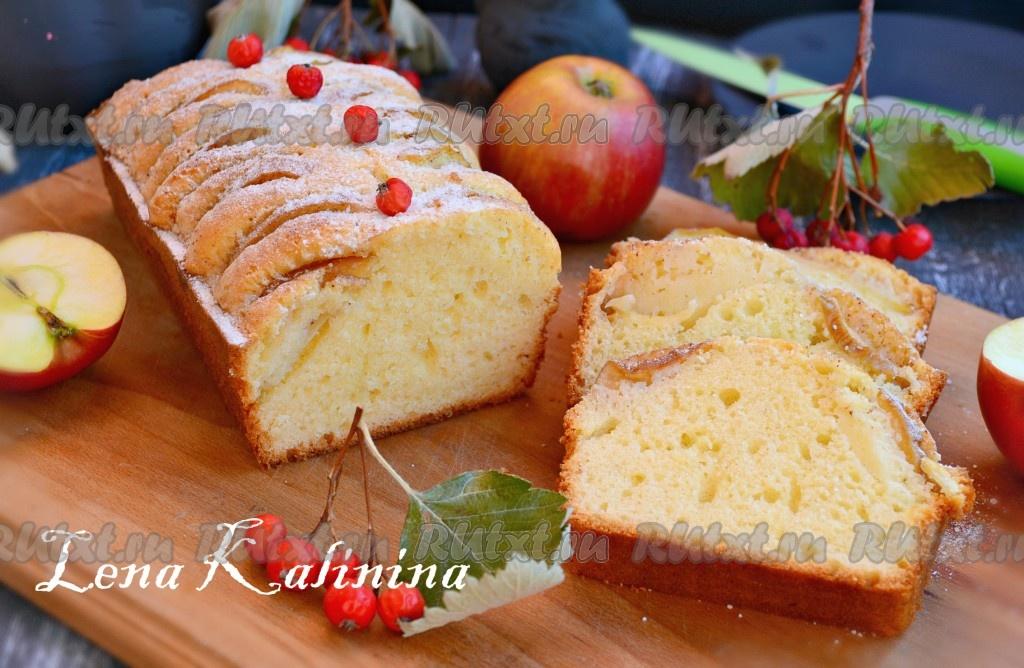 Вкусная и простая выпечка с яблоками рецепты