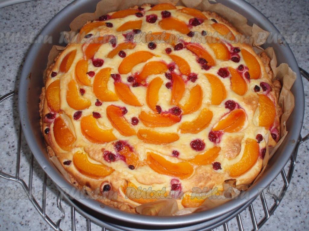 Пирог с консервированными абрикосами рецепт пошагово