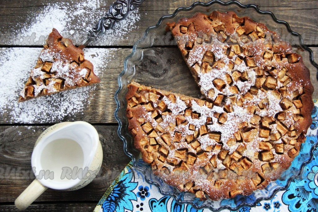 Пирог на сметане рецепт с фото