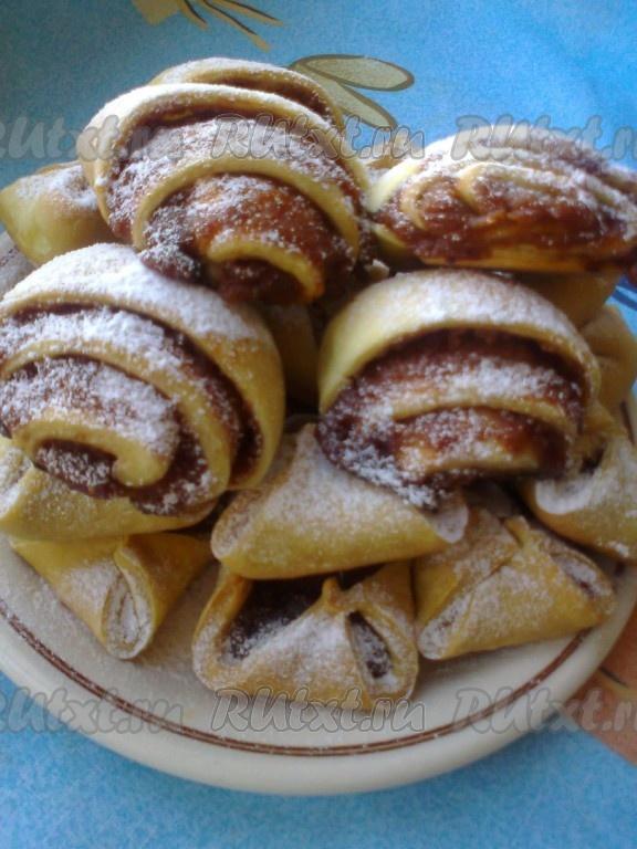 рецепт печенья на рассоле с вареньем
