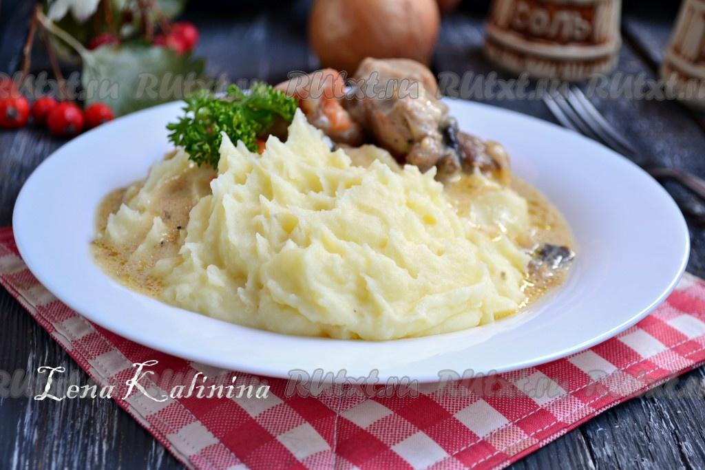 Пюре картофельное с луком рецепт 8