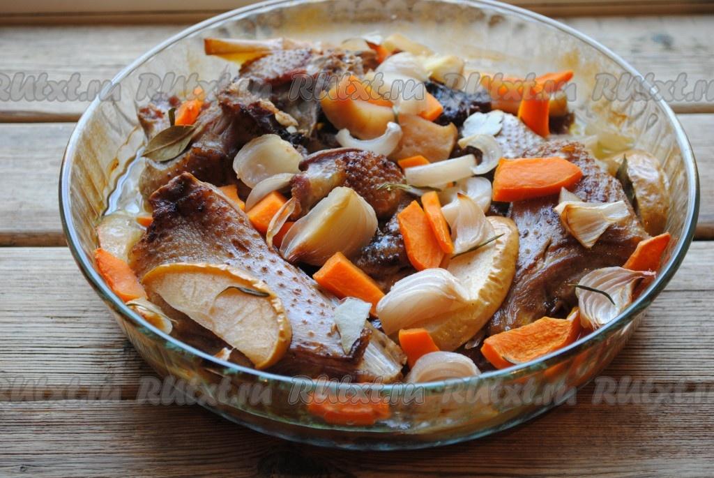 гусь порционный рецепты приготовления