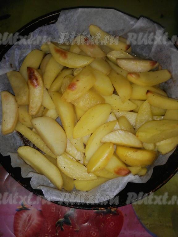 запеченный картофель с паприкой в духовке рецепт