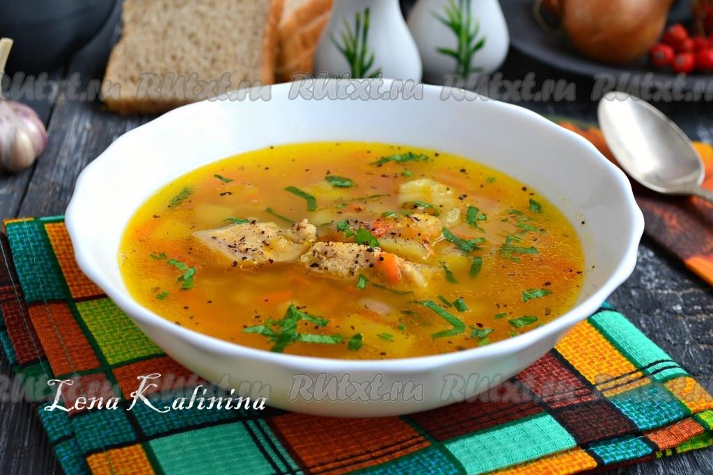 гороховый суп рецепт приготовления с курицы