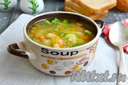 рецепты овощных супов без мяса и картофеля