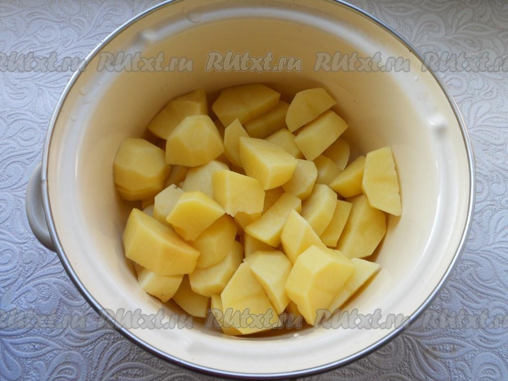 Видео вареники из картошки рецепт пошагово