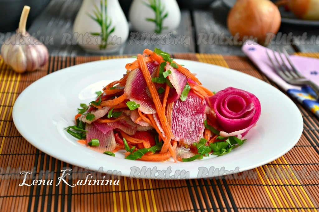 Салат из редьки по-корейски рецепт — 3
