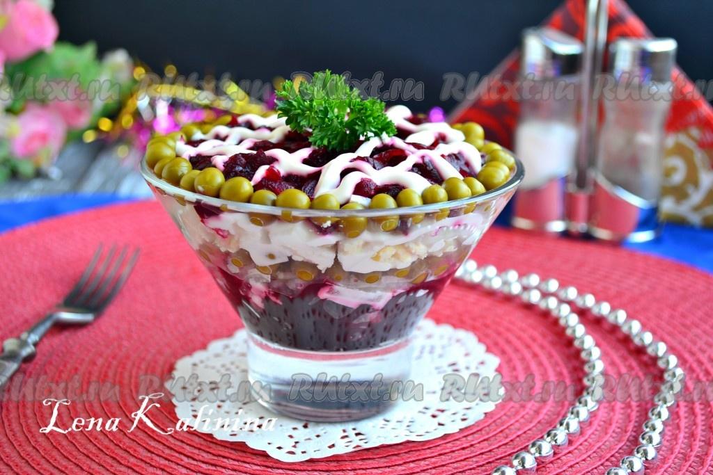 салаты из свеклы вареной рецепты с фото простые и вкусные рецепты фото