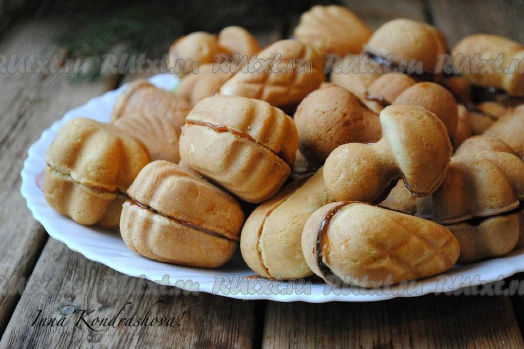 Печенье орешки рецепт фото формочках