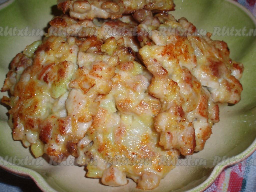 Котлеты из индейки в духовке рецепт пошагово в
