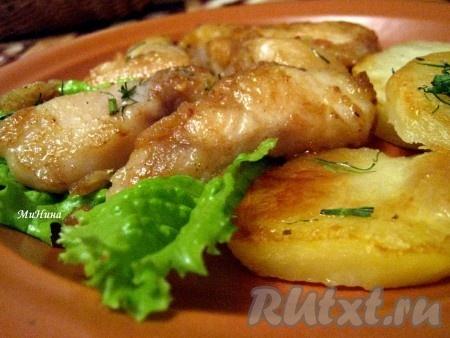 Рыба в соевом соусе с карри
