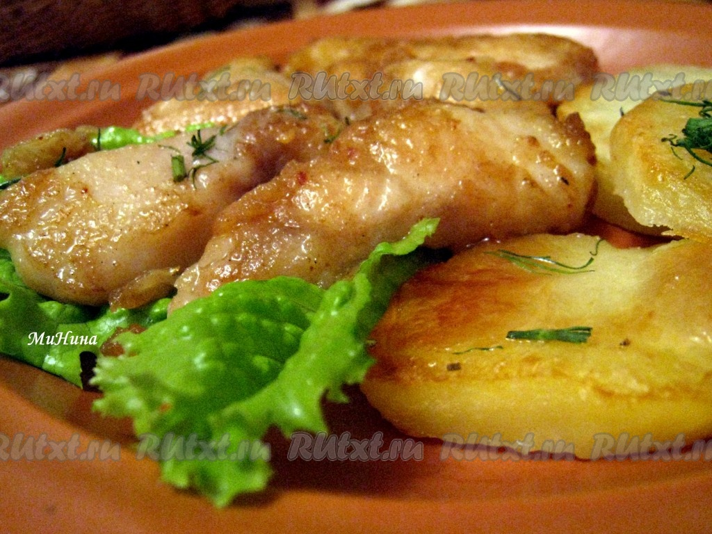Рыба с подливкой рецепт