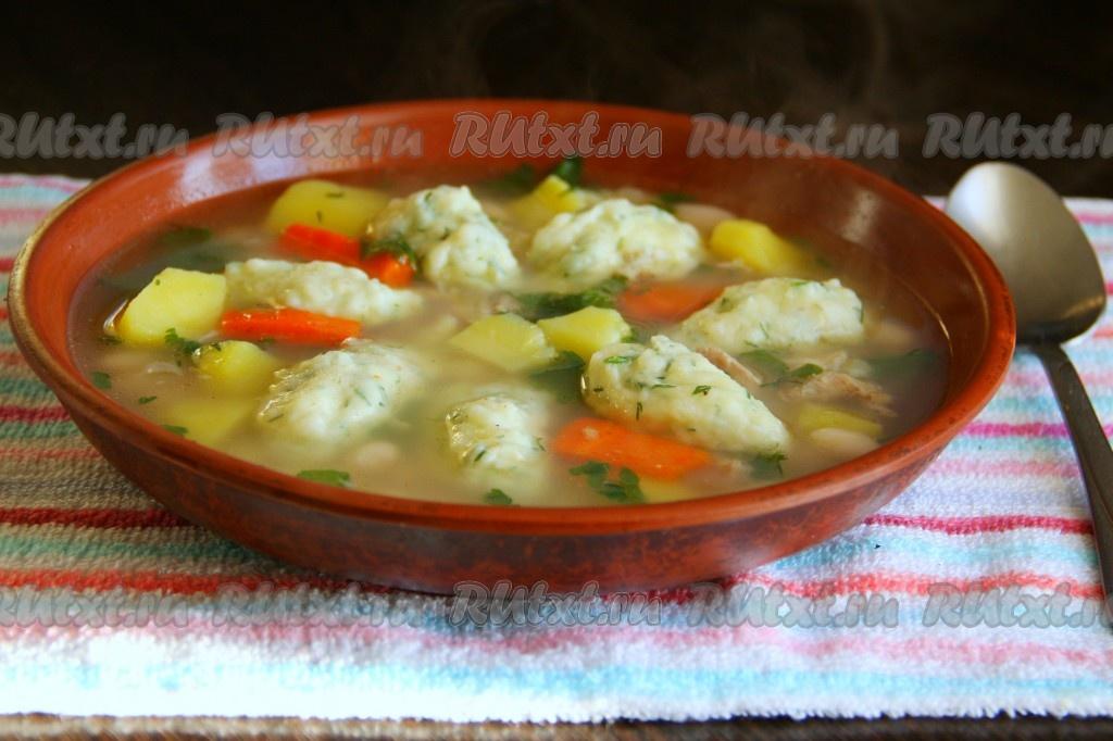 Как приготовить вкусный суп с клецками