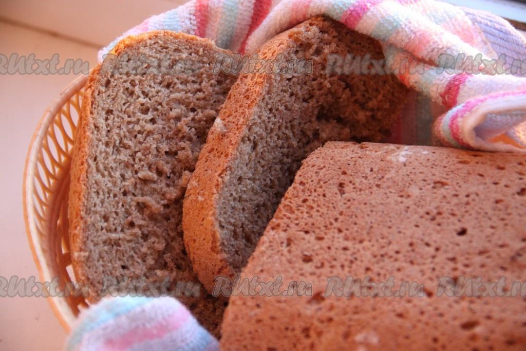 рецепт выпечки ржаного хлеба хлебопечке