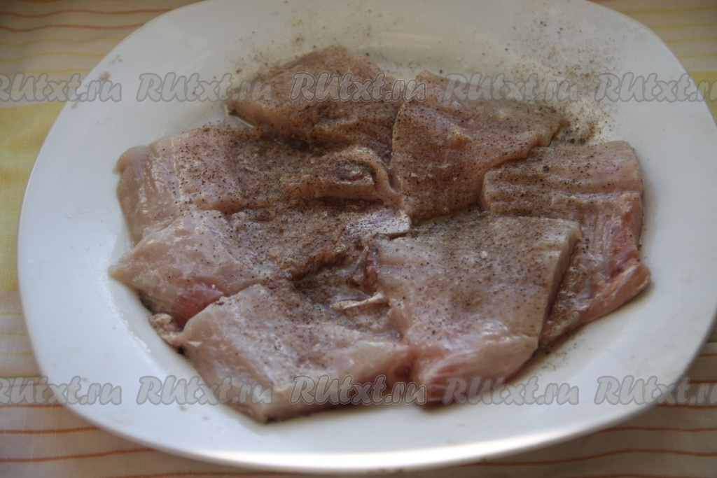 Рецепт из филе карпа
