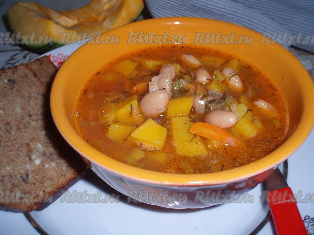 суп с тыквой и картофелем рецепт с фото