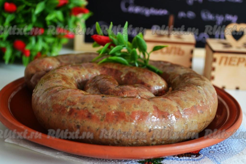 домашняя колбаса с гречкой рецепты