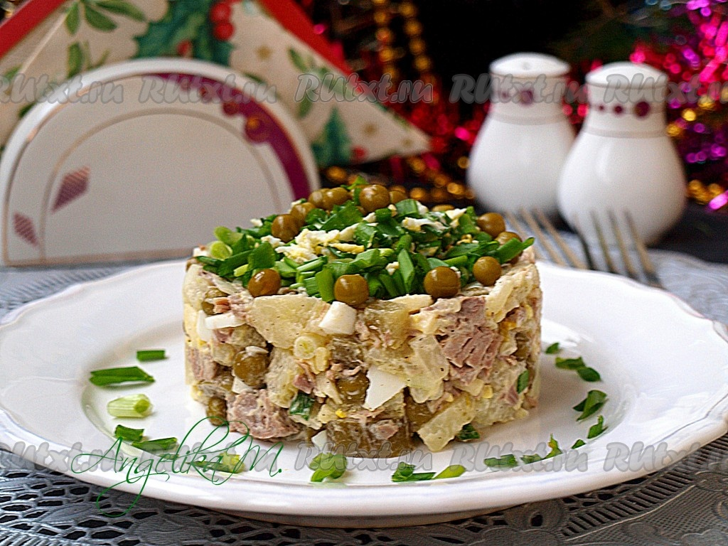 рецепты салата оливье с говядиной