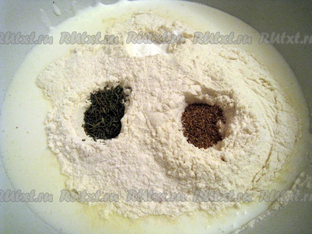 Рецепт теста на кефире для лепешек в духовке