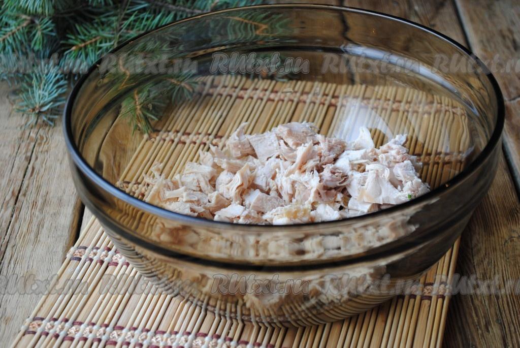 салат оливье рецепт с курицей и солеными огурцами рецепт