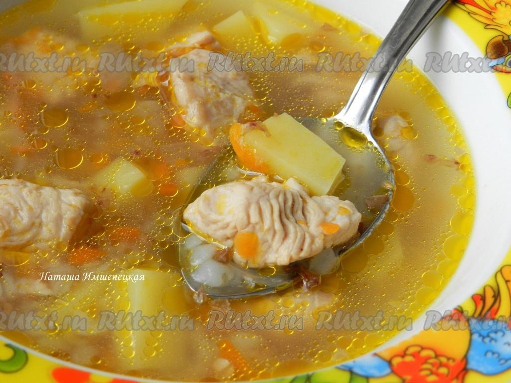 Гречка суп мясом рецепт фото