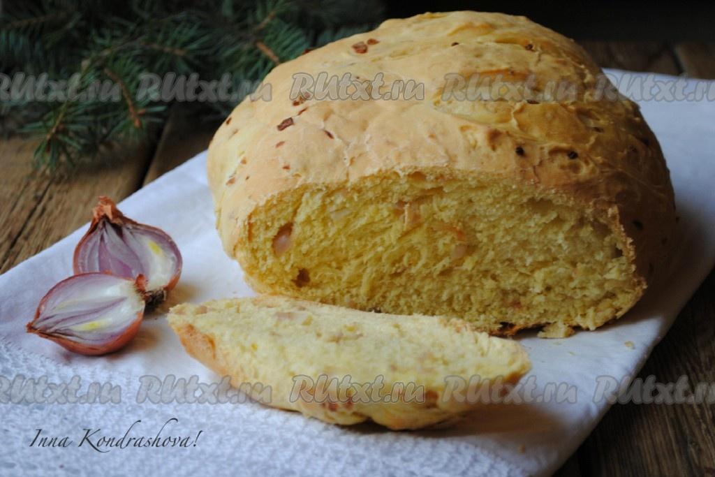 Луковый хлеб рецепт в духовке