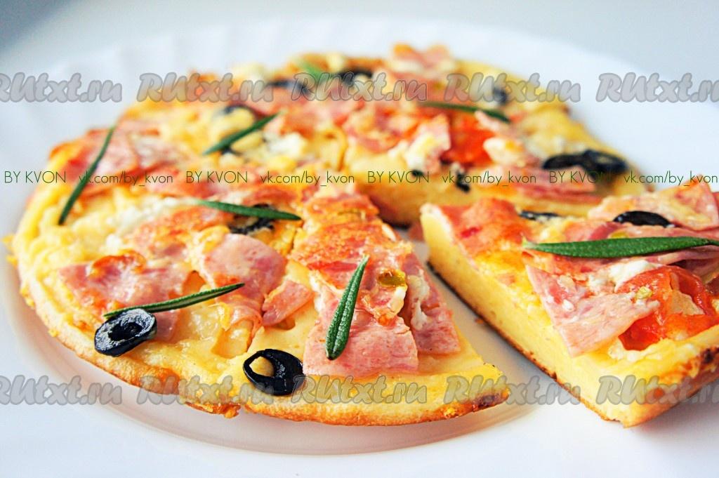 Рецепты быстрого приготовления пиццы на сковороде