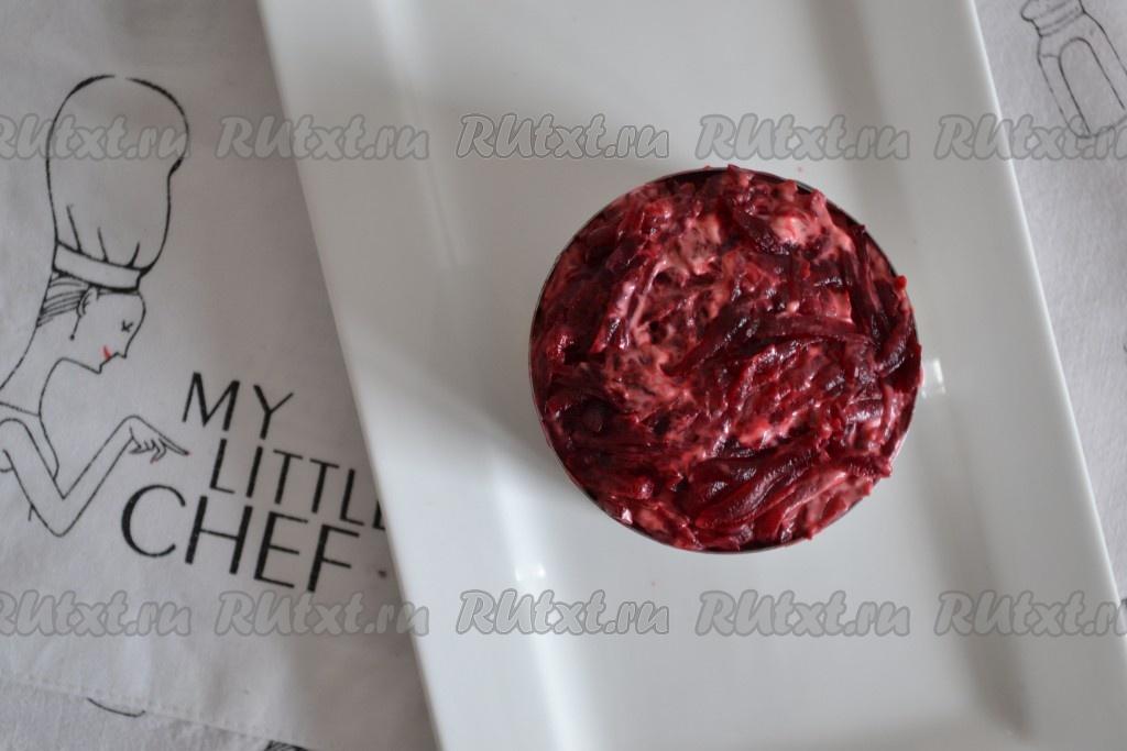 Рецепт салата шпроты под шубой с 198