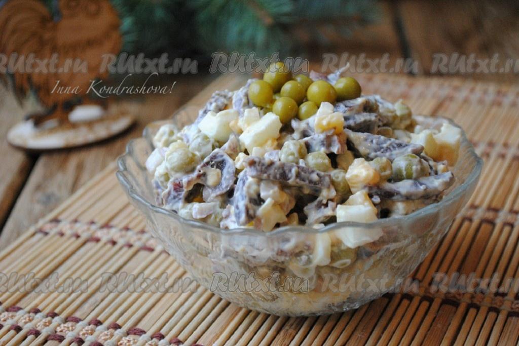 салат из желудков рецепт и фото