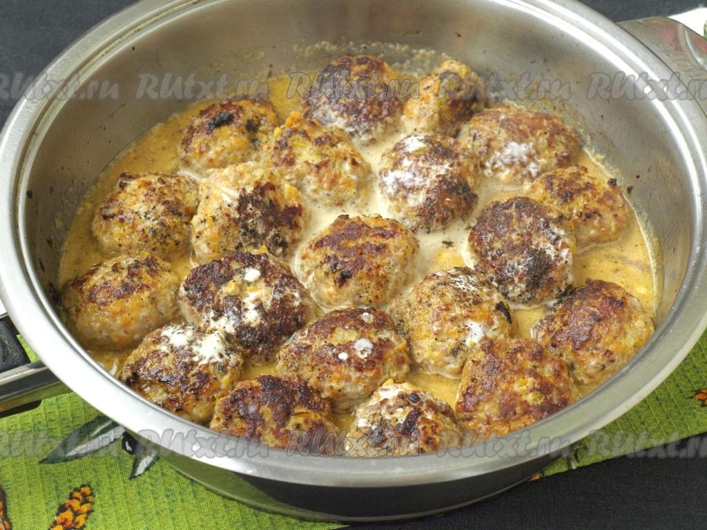 Соус для котлет из индейки пошаговый рецепт пошагово