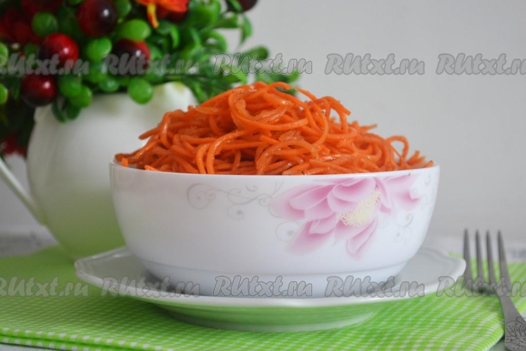 рецепт салата из жареной моркови с луком