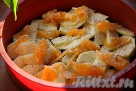 яблочный пирог (шарлотка), рецепт приготовления
