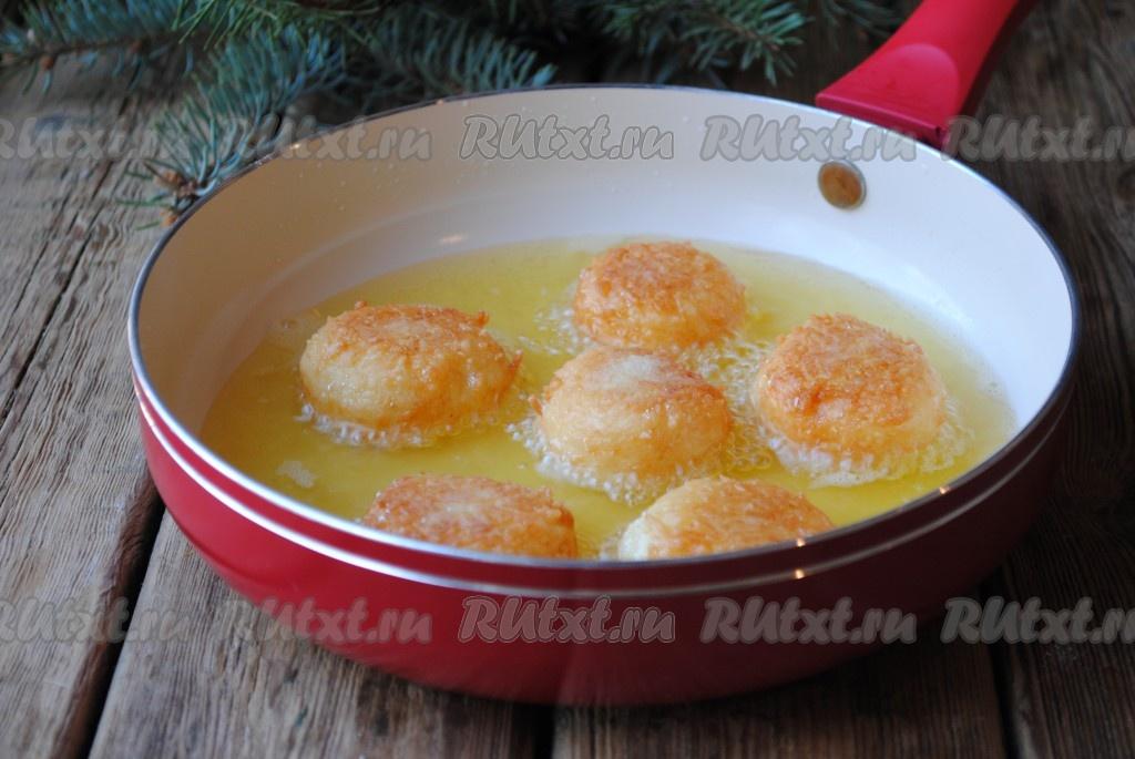 Сырные шарики во фритюре рецепт с фото пошагово