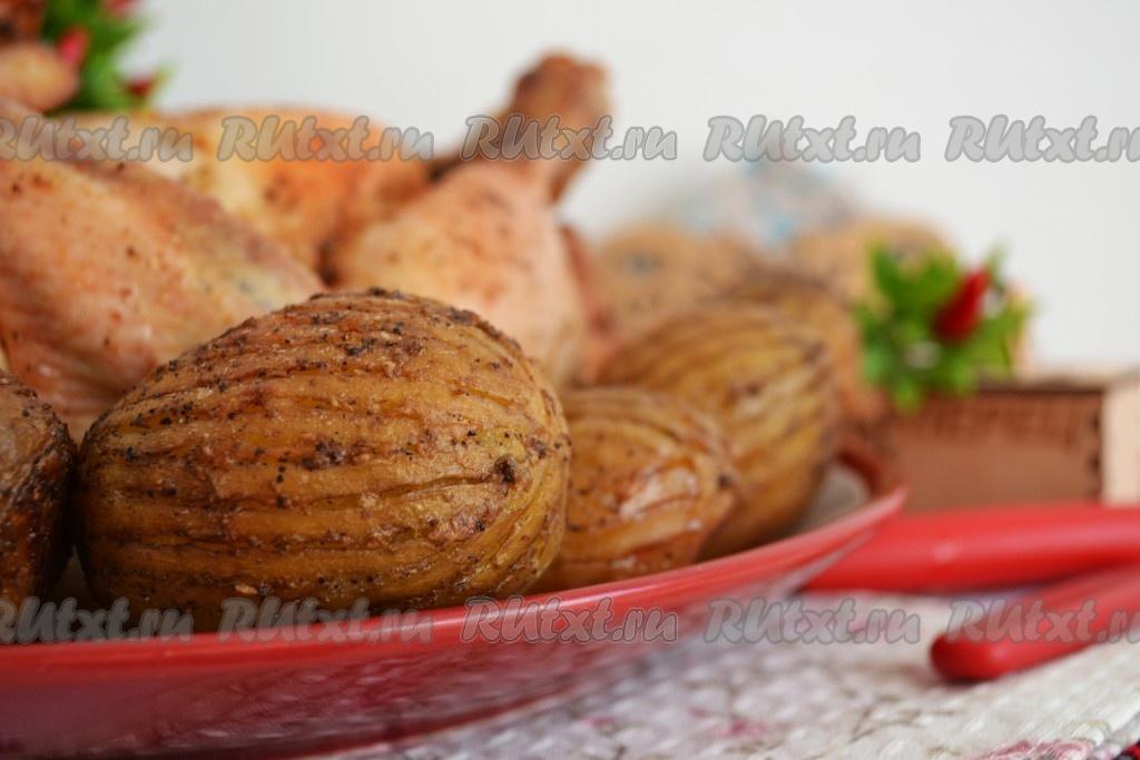 Запеченная картошка целиком в духовке рецепт