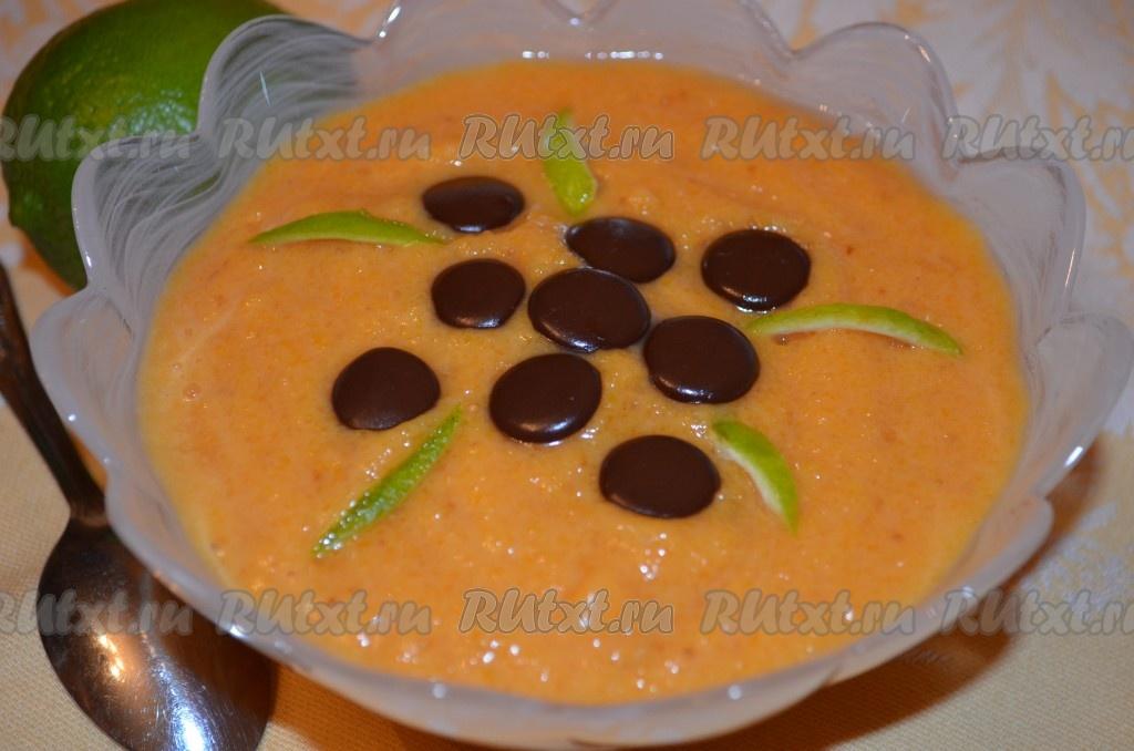 Десерт пюре из тыквы — pic 3