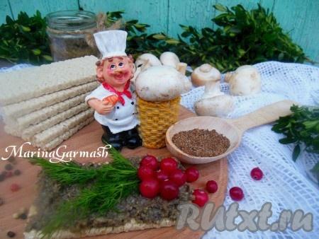Очень вкусная икра из шампиньонов готова, других специй добавлять не рекомендую, чтобы не испортить грибной вкус. {amp}#xA;