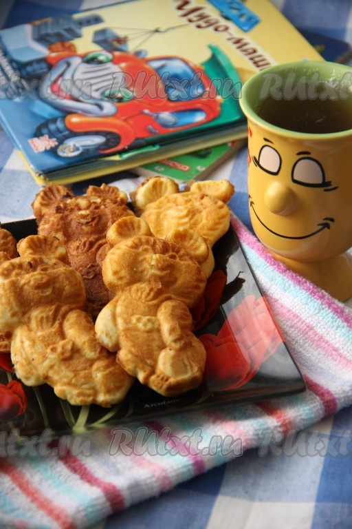 рецепт печенья в форме на газу с фото орешки