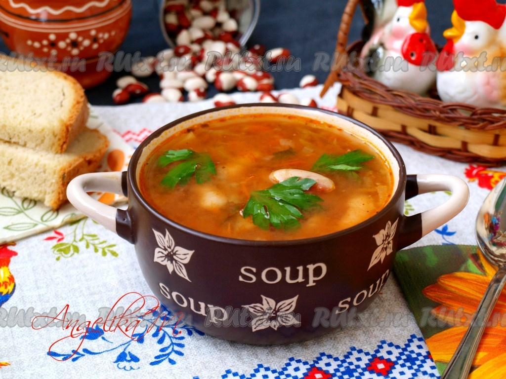 Рассольник постный суп 5