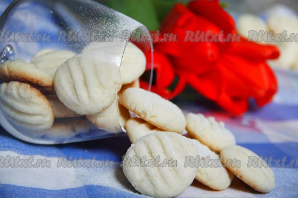 Рецепт печенья с крахмалом картофельным