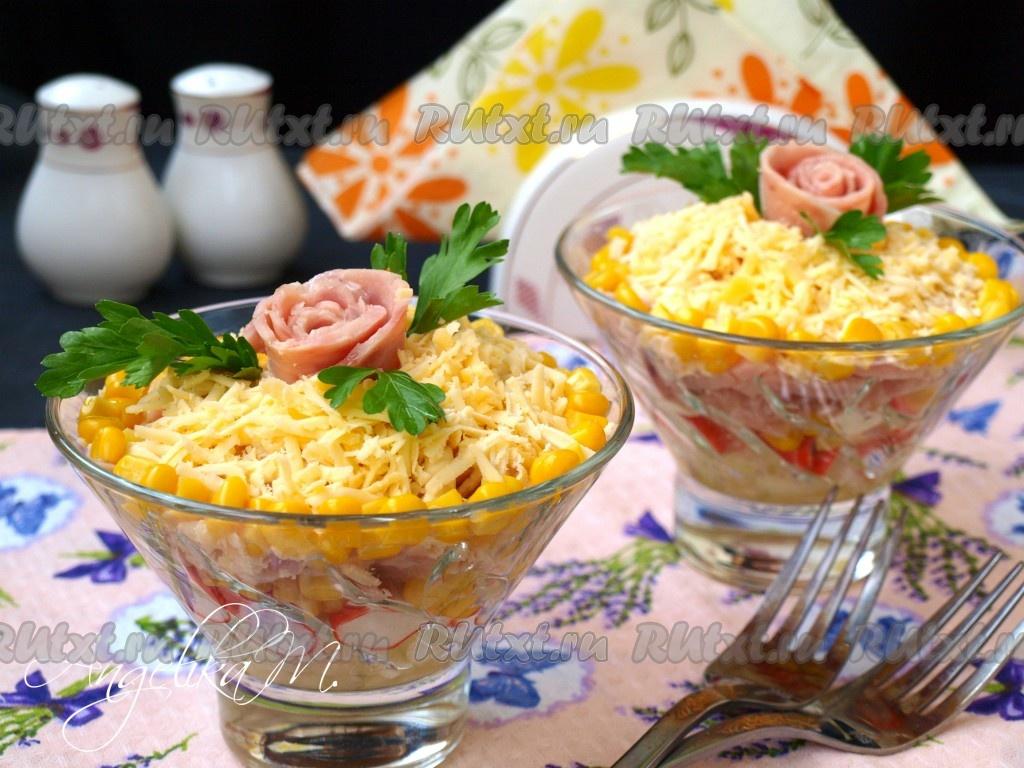 новые салаты с крабовыми палочками рецепты с фото