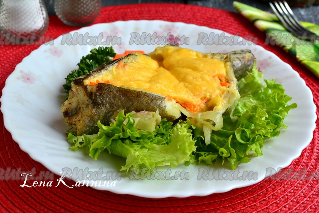 Хек с морковью в духовке рецепты