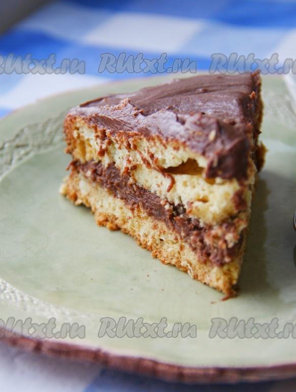рецепт торта с карамелью в домашних условиях